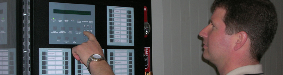 Fire system control panel